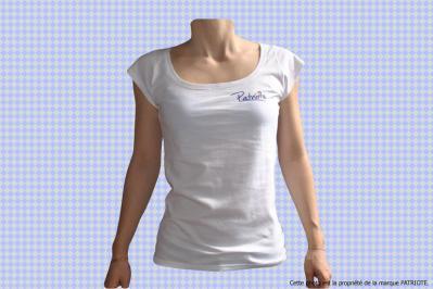 Tee-shirt Français Patriote Ad Vitam femme