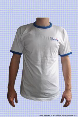 Tee-shirt Français Patiote Ad Vitam homme